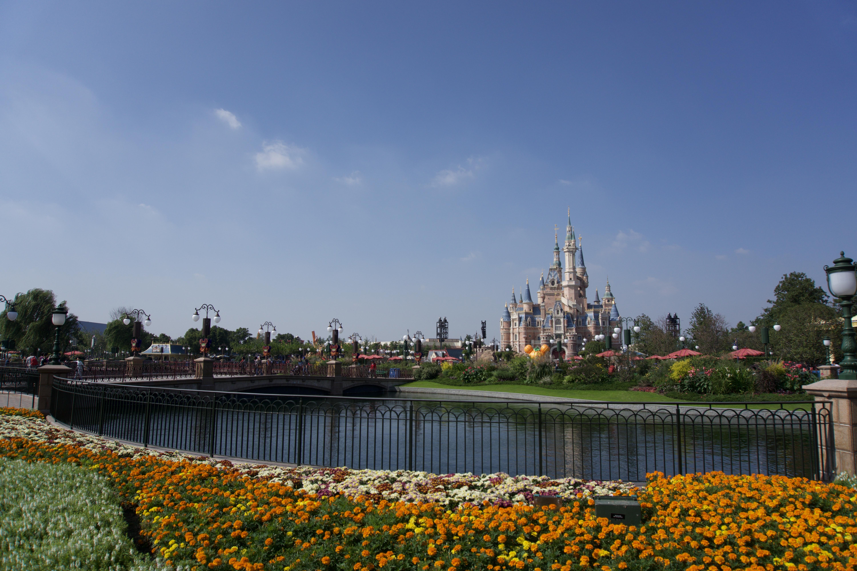 Disney Schloss Panorama