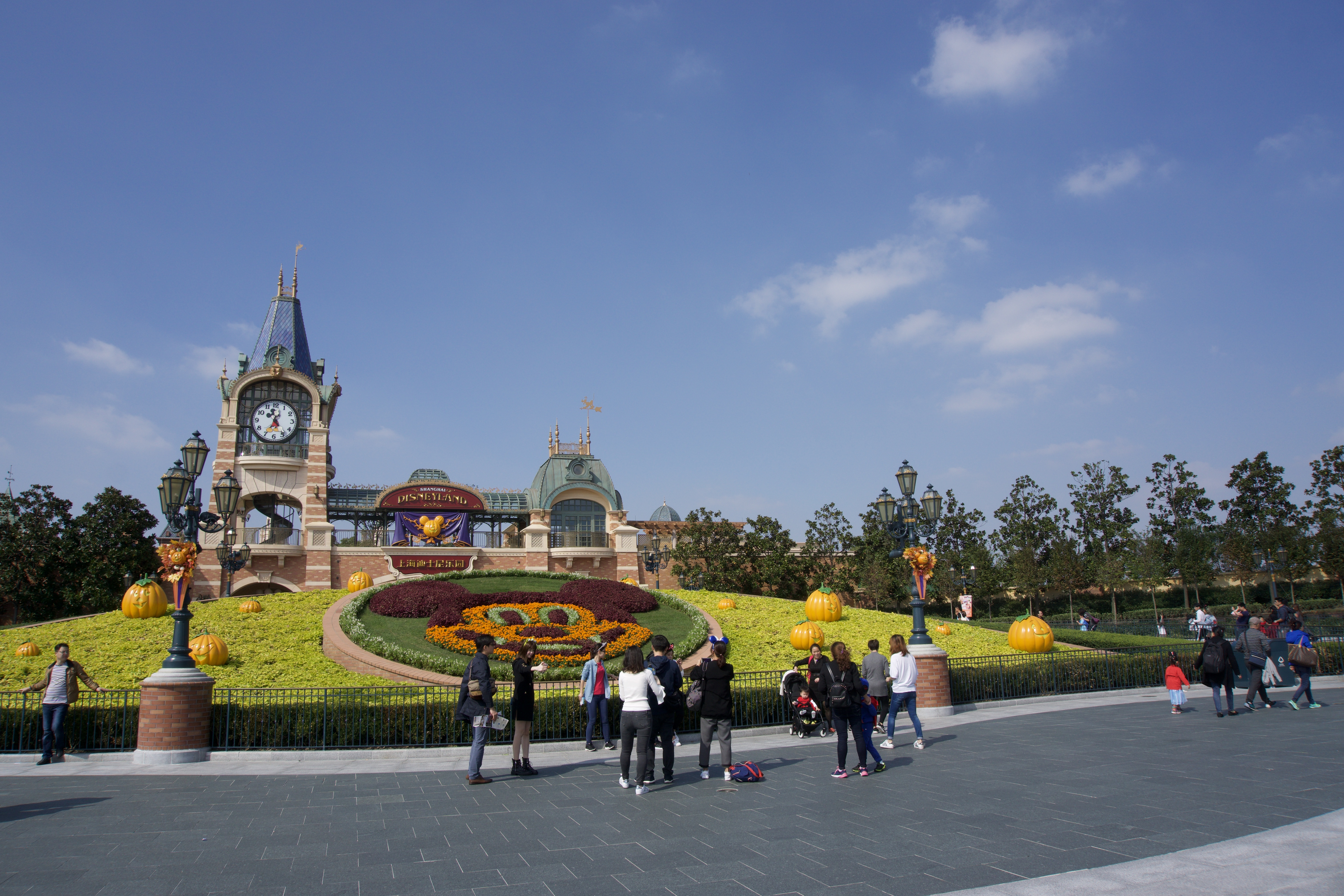 Disney Resort Shanghai - Eingang