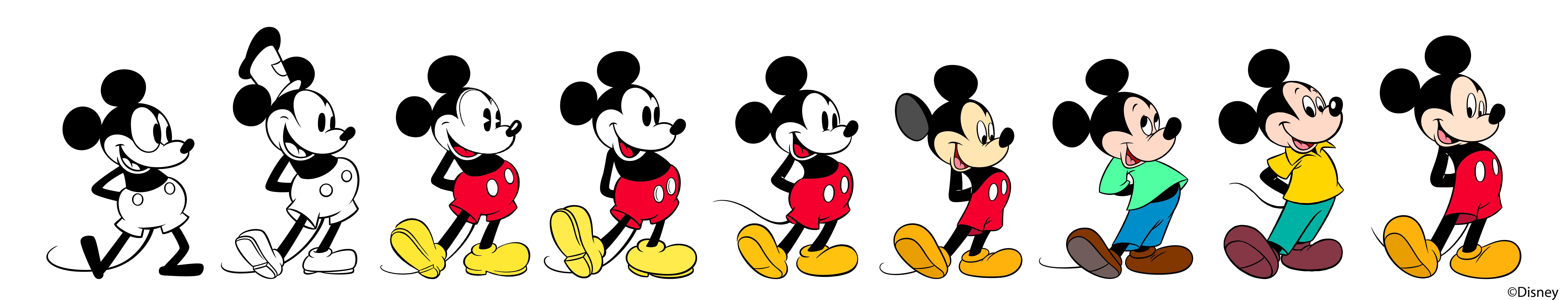 Mickey Timeline