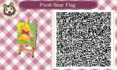 Winnie Puuh (Flag) (ACNH)