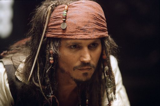 Fluch der Karibik - Johnny Depp - Jack Sparrow
