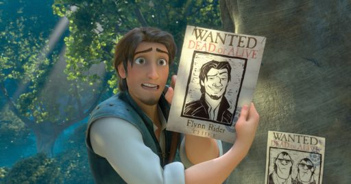 Flynn When the kingdom's most wanted?and most charming?bandit Flynn Rider (voice of Zachary Levi) is taken hostage by Rapunzel (voice of Mandy Moore), a feisty teen with 70 feet of golden hair who's looking for her ticket out of the tower where she's been locked away for years, the unlikely duo sets off on a hilarious, hair-raising escapade filled with adventure, heart, humor and hair?lots of hair. In U.S. theaters Nov. 24, 2010. ©Disney Enterprises, Inc. All Rights Reserved.