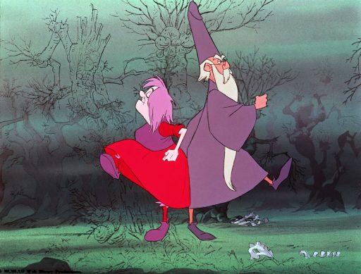 Die Hexe und der Zauberer - Madam Mim - Merlin