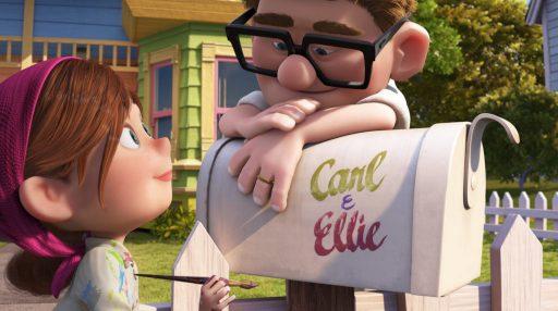 Carl und Ellie - Oben - Disney