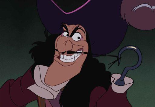 The villainous Captain Hook